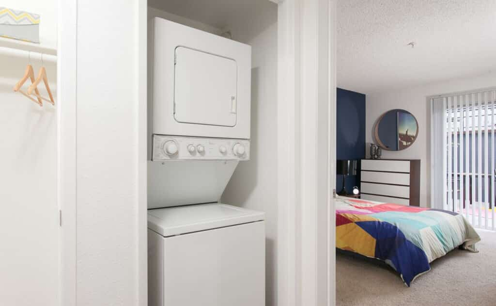 Washer and Dryer at Artists Village Apartments